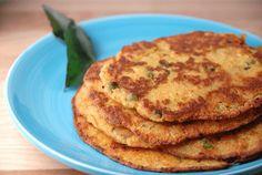 Savory Indian lentil pancake