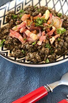 Salade De Lentilles Lardons : salade, lentilles, lardons, Épinglé, SALADES