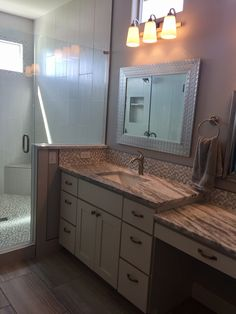 Paint White Vanity Cabinets Learn More: Builder Preferred Cabinetry Serving the Wichita, KS Area