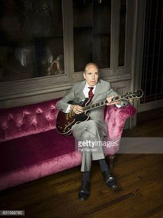 Guitarist and singer of the Clash and Big Audio Dynamite Mick Jones is photographed for the Observer on July 13 2016 in London England