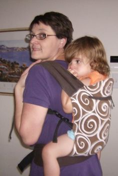 condensed review of baby carrier types and brands. Very informative for beginner babywearers!