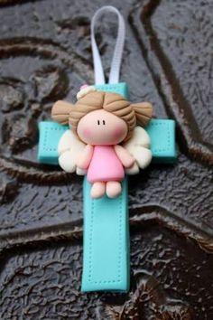 Resultado de imagen para souvenirs bautizo en pasta