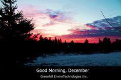 Good Morning, December!