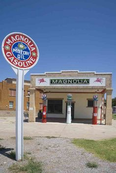 Magnolia Station, Route 66, Shamrock, Texas