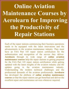 Aerolearn - The Tradition of Excellence in Aviation Maintenance Training Productivity, Innovation, Aviation, Training, Activities, Business, Air Ride, Education, Business Illustration