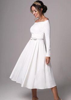 Courthouse Wedding Dress, Shop Engagement Rings, Pretty Dresses, Bridal Dresses, Wedding Decorations, Short Dresses, White Dress, Clothes, Shopping