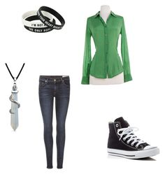"""""""everyday"""" by nightgamer ❤ liked on Polyvore featuring J.Crew, rag & bone, Converse and Bling Jewelry"""