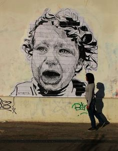 SCREAM - by STMTS in Athens, GR #Greek #Greece #Athens #Street #Art #StreetArt