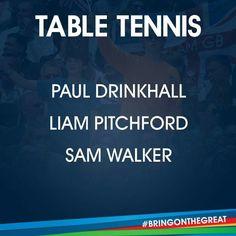 Table Tennis- Team GB Rio 2016