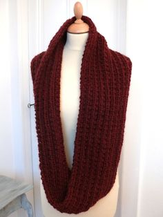 6ddf5a6b2bdb Tuto double snood Col Tricot, Tricot Hiver, Foulard Tricot, Tricot Homme,  Couture