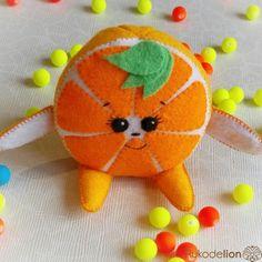 Выкройка + Мастер-Класс игрушки из фетра Малыш Апельсин Новый год, Снег, Коньки, Мандарины, Апельсины - неотъемлемая часть каждой зимы....