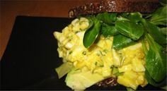 Æggesalat med ægte K på