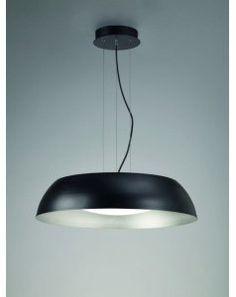 Colgante de techo gr negro Led Argenta 4843 de Mantra