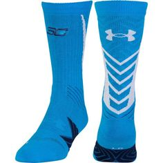 Under Armour Undeniable SC Crew Socks, Women's, Size: Medium, Blue