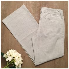 Light grey work pants Light grey work pants- great condition. Mossimo size 10 fit 3. 66% polyester 32% rayon 2% spandex Mossimo Supply Co. Pants