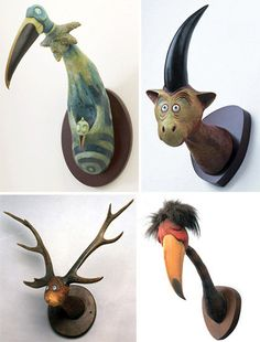 Unorthodox Taxidermy - Dr Seuss