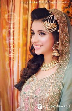 Best Picture For Bridal Outfit 2018 For Your Taste You are looking for something, and it is going to tell you exactly what you are looking for, and you didn't find that picture. Here you will find the Pakistani Bridal Makeup, Pakistani Wedding Dresses, Desi Wedding, Wedding Attire, Desi Bride, Perfect Bride, Beautiful Bride, Bridal Outfits, Bridal Dresses
