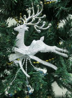 Home-Christmas-Tree-Ornament-Deer-Chital-Hanging-Xmas-Baubles-Party-Decoration