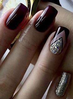 - # Nails - www. – # Nails www. Classy Nails, Stylish Nails, Fancy Nails, Trendy Nails, Diy Nails, Cute Nails, Nail Nail, Gel Manicure, Acrylic Nail Designs