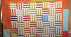 This summer, I opened up a beloved fat quarter pack of Pat Sloan's fabrics  and have been slowly sewing my way through it ever since.   So ...