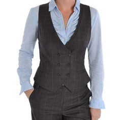 Ted Baker Volo Power Suit Waistcoat In Brown WA1W/GF42 - Excel ...