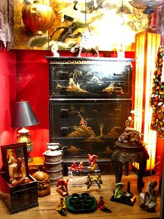 Lacquer Cabinet Window Displays, Windows, Cabinet, Painting, Art, Store Windows, Clothes Stand, Craft Art, Shop Displays