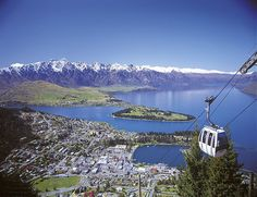 Queenstown on the South Island of New Zealand has to be one of the most beautiful cities I have ever seen!