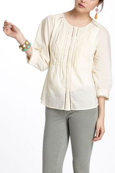 Fluted Tunic #anthropologie; $40; 6
