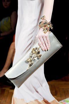 Gemstone accessorisation ~ Aigner Spring 2013