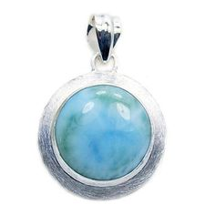 Authentic AAA Dominicaine Larimar 925 Sterling Silver Dangle Boucles d/'oreilles
