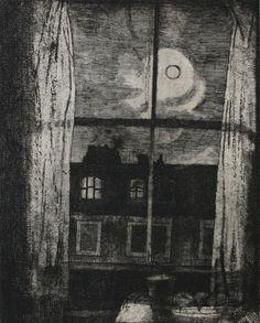 Arthur Hackney - View from Window, 1950