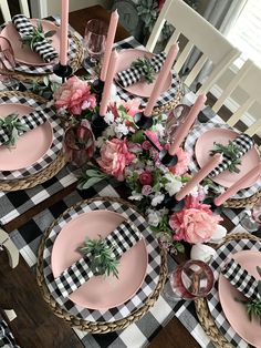 Easter Table Decorations, Decoration Table, Table Arrangements, Table Centerpieces, Deco Table Noel, Dining Room Table Decor, Beautiful Table Settings, Spring Home Decor, Partys