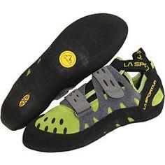 Climbing-La Sportiva Tarantula Shoe Kiwi / Grey 43 * Want to know more, click on the image.