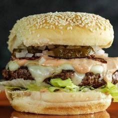 Rach's Daym Drops Single Patty Burger Recipe