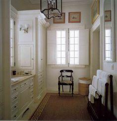 Gentleman's Bathroom - Bunny Williams' Caribbean Retreat house