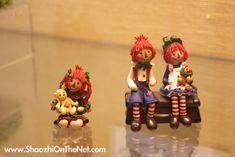 Manda Theart, craft, bear kingdoms, clay figures.