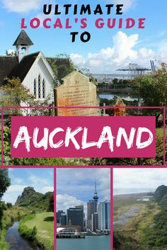 Live like a local in this ultimate guide to Auckland, New Zealand. Go travelling to Auckland.  #backpackingNZ #travelnewzealand #travelauckland #auckland
