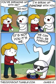 54 Things That Made Me Laugh Theodd1sout Comics, Cute Comics, Odd Ones Out Comics, Funny Cute, Funny Pics, Super Funny, The Funny, Funny Pictures, Short Comics