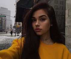 "167.9k Likes, 991 Comments - Maggie Lindemann (@maggielindemann) on Instagram: ""if you ever think you're extra, just know I walked out into a *blizzard*, with just a sweatshirt…"""