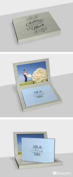 @graphistudio Young Book in partnership with DreamArt photography. Special Thanks to Ashley & Mark #DreamArtPhotography #DreamArtWedding #WeddingBook #GraphiStudio #YoungBook - Book Size 30x 20 cm. 30 pages. Ribbon Light Gray. Box Maple Sage Gray. Book Cover Sky Blue. Inside Box Photographic paper.