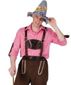 Funny Fashion Mens Swedish German Oktoberfest Halloween Costume Shirt Std | Reungit Store