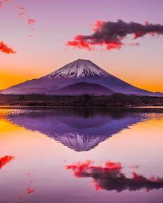 "Fuji, Japan by "" Perfect colors!"
