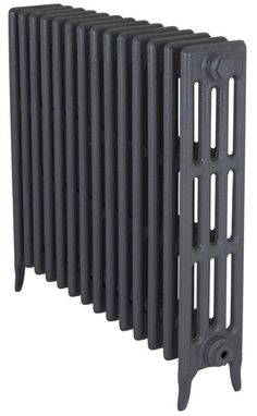 Tall Victorian 4 Column Cast Iron Radiator 14 Sections