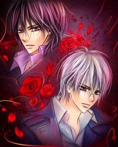 Vampire Knight | VK__Kaname_Zero by leejun35.deviantart.com on @DeviantArt