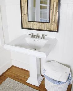 Kingsley Brushed nickel two-handle low arc bathroom faucet - T6105BN