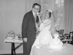 Trivette-Summers Wedding, 1960
