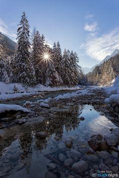 River in winter by Mile Sevo