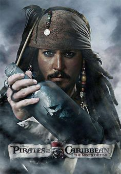 *CAPTAIN JACK SPARROW ~ Pirates of the Caribbean, The Mists of Time,