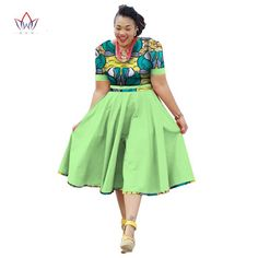 Cheap dashiki for women, Buy Quality dress african print directly from China plus size african dashiki Suppliers: Plus Size Clothing 2017 summer Dress African Print Dress Dashiki For Women Bazin Riche Vestidos Femme Dress Plus Size BRW African Wear Dresses, Latest African Fashion Dresses, African Print Fashion, African Attire, African Outfits, Summer Dresses 2017, Summer Dresses For Women, 2017 Summer, Plus Size Dashiki Dress