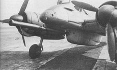 Henschel Hs-129B-2/R4 armed a 75mm (7.5 cm BK) cannon derived from the PaK 40 against Russian T-34 tank etc.